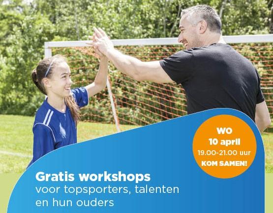 Dubbele workshop voor ouders & sporters