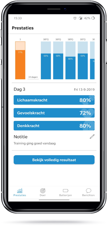 Download de Drie Batterijen App