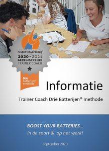 Opleiding mentale trainer coach informatie NL sportpsycholoog