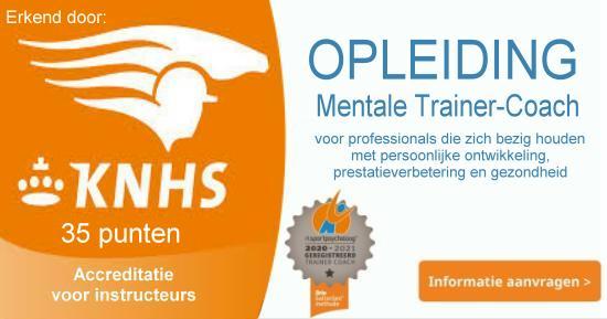 Opleiding mentale trainer coach paardensport KNHS